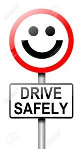 15842131-安全な運転の概念と道路標識を描いたイラスト-ホワイト-バック-グラウンド